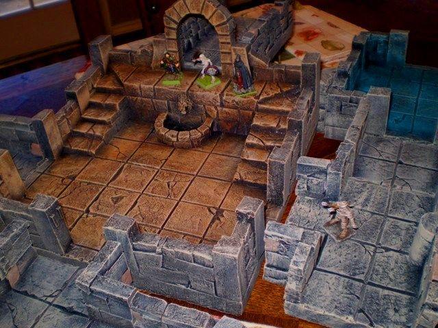 foam terrain dungeons fantasy rpg heroquest 3d warhammer dungeon dragons cheap winter craft quest tiles games board gaming hirst arts