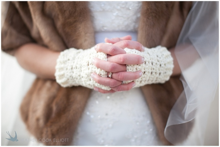 Winter Wedding Accessories