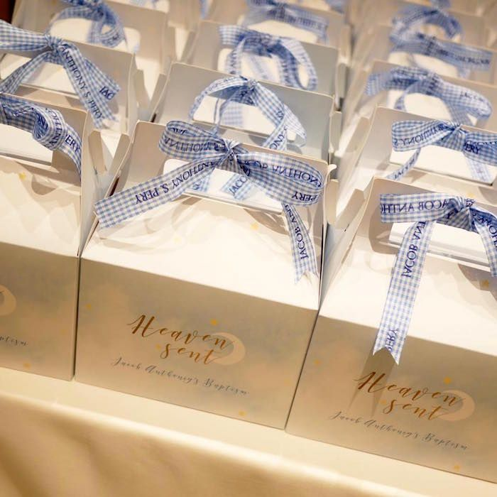 17 best images about baby shower ideas from kara 39 s party ideas on pinterest chic baby fiesta - Ideas for baptism party favors ...