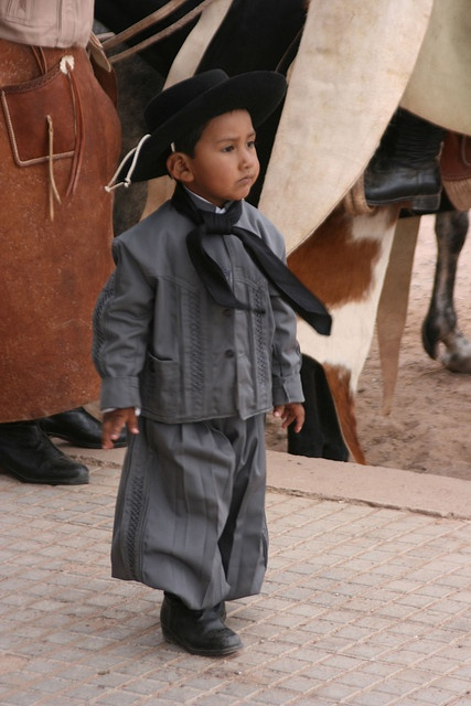 Little Gaucho person. ARGENTINA (by Niquinho, via Flickr)
