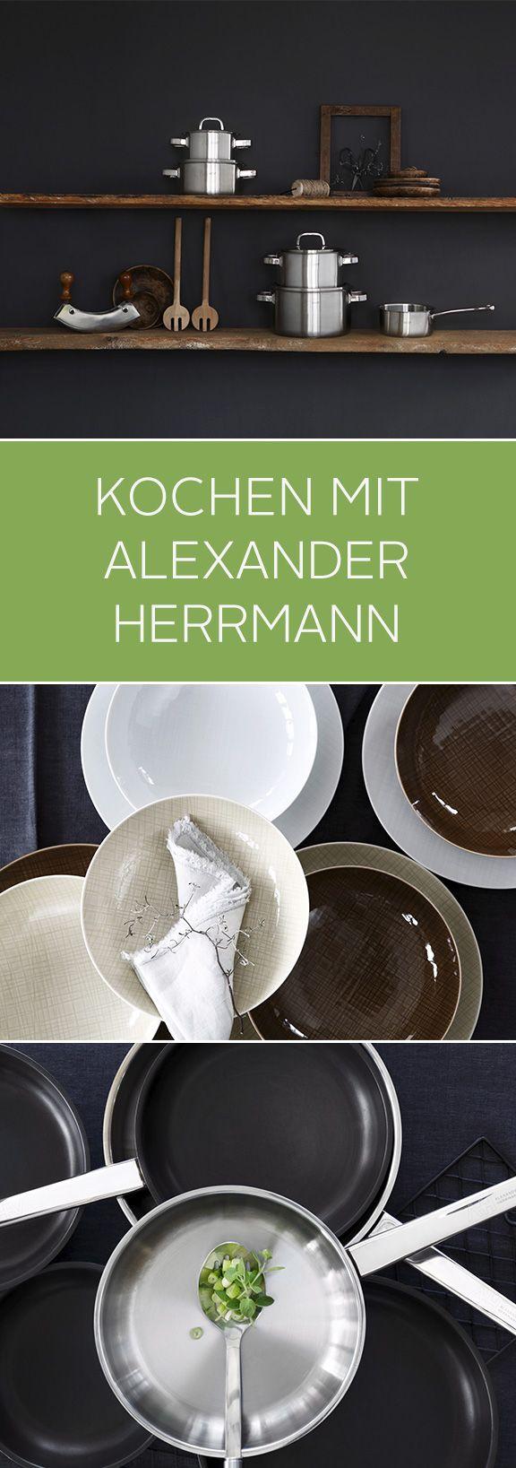 Zu viele Köche verderben den Brei – aber zu viele Töpfe kann man niemals haben. Das praktische Edelstahl-Topfset von Alexander Hermann besteht aus fünf Töpfen in verschiedenen Größen – und vier Deckeln für das perfekte Kochvergnügen. Gutes Gelingen!