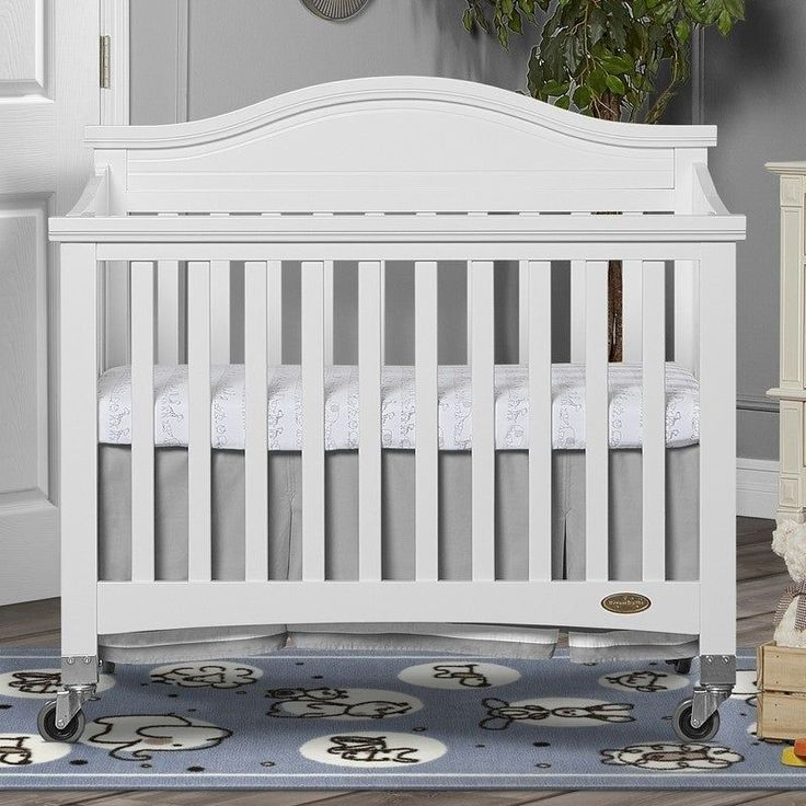 Folding Portable Crib, Dream On Me Crib Bedding