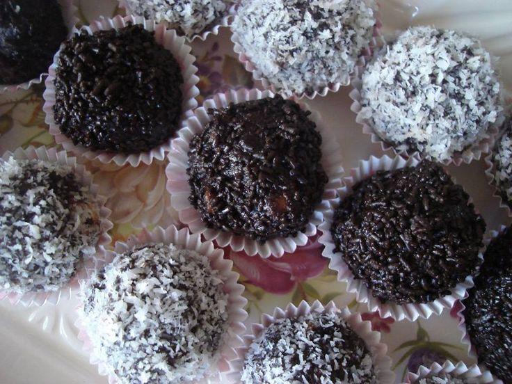 Εύκολα+τρουφάκια+με+ζαχαρούχο