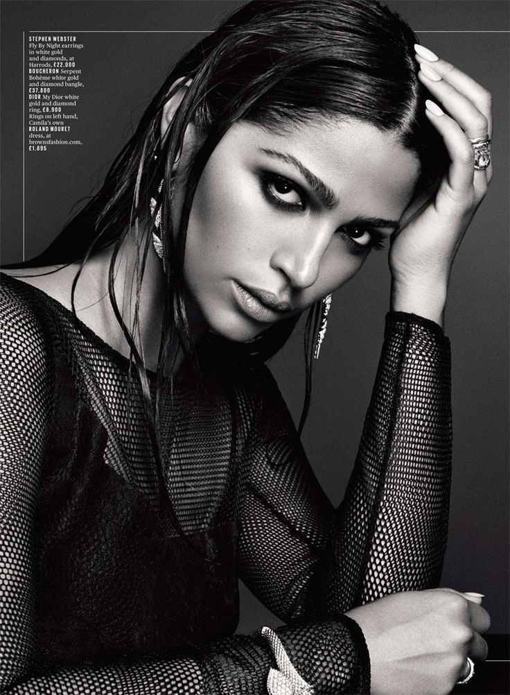 Camila Alves Stuns in Deluxe Photo Shoot by David Roemer