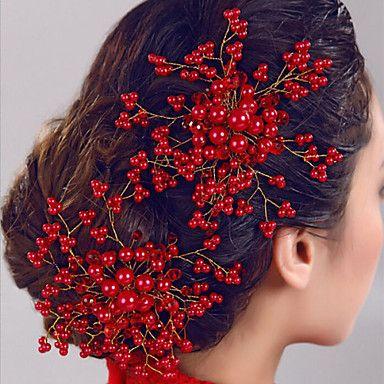 Pearl+Flower+Bride+Hair+Comb+Wedding+Headdress+Wedding+Accessories+–+GBP+£+8.39