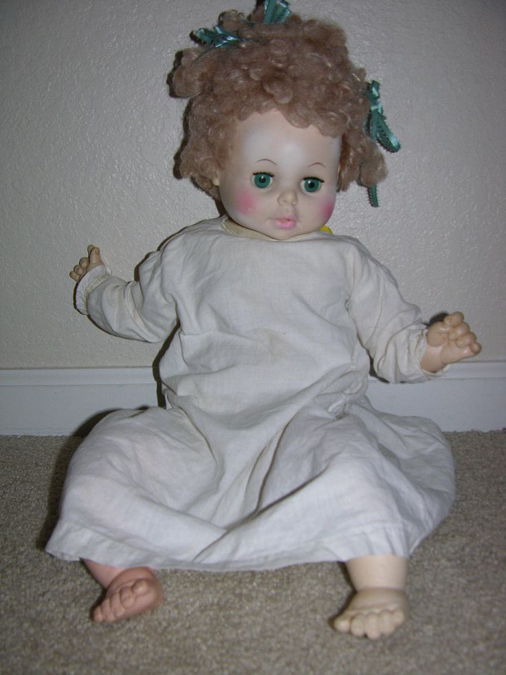 """Vintage Eegee 20"""" Doll 1973 stuffed cloth body blonde Baby Doll in Dolls & Bears, Dolls, By Brand, Company, Character, Eegee 