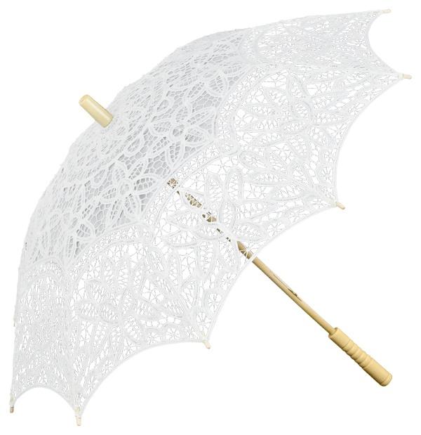Parasol de encaje_blanco, en mi tienda SEVILLA MÁGICA
