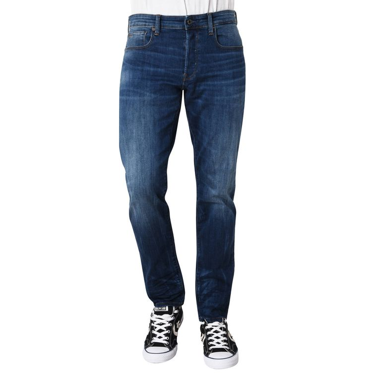 "Jeans ""3301 Straight"", Tapered Fit, Waschungen"