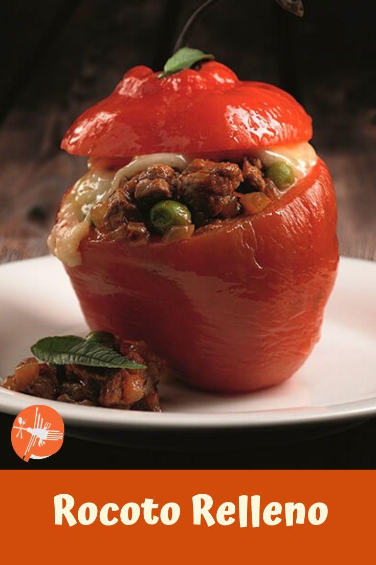 """✅ INGRESA ✅y Aprende a preparar esta delicioso 😋😋Plato Peruano """"Rocoto Relleno"""" 🥘🥘 ...................... Ingredientes ........................... 4 und Rocoto  / 4 und Papa cocida  / ½ kg Carne molida  / 1 und Cebolla en cuadritos / ------------ #rocotorelleno #rocoto #arequipa #comidaarequipeña #rocotoarequipeño #platoperuano #platoarequipeño #comidaperuana #peruvianfoods #cocinaperuana #peruviancousine #peruviangastronomy #gastronomiaperuana #recetaperuana #peruvianrecipe Peruvian Recipes, Pizza, Fruit, Desserts, Food, Peruvian Cuisine, Cooking Recipes, Oven, New Recipes"""