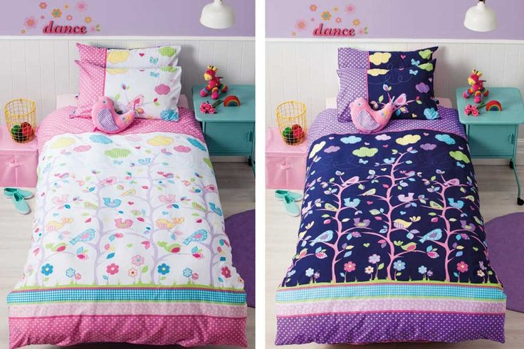 Birdie Tree Kid's Duvet Set by Cubby House Kids