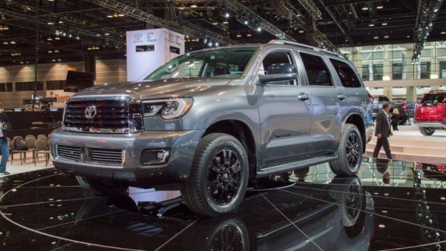 2019 Toyota Sequoia Sr5 Trd Sport Limited And Platinum Car