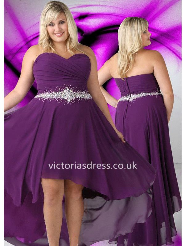 Mejores 65 imágenes de Plus Size Prom Dresses en Pinterest | Vestido ...