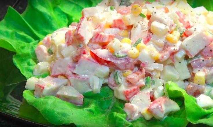Cette salade de GOBERGE est renversante! Un dîner prêt en 10 minutes, Top Chrono!