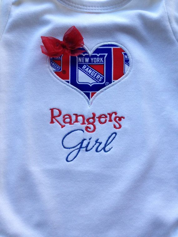 Our New York Rangers Girl Shirt by saluna on Etsy ... 7707fa3c7