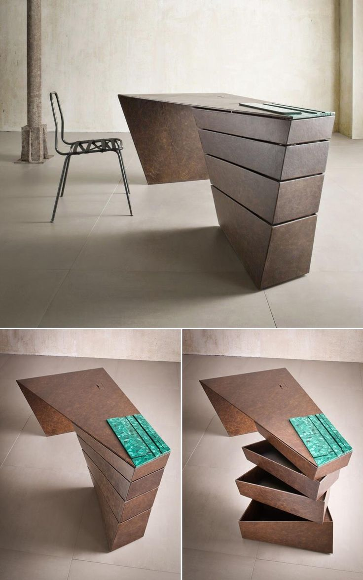 unusual furniture designs. Beautiful Office Furniture - This Twisted Desk Design Appears Almost Sculptural. Unusual Designs