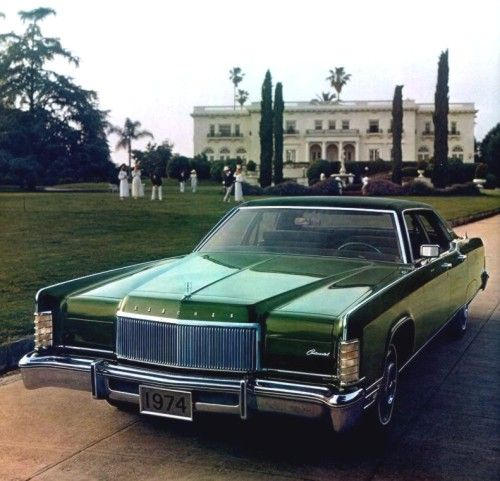 1974 Lincoln Town Car Ok Not Technically A Ford But C Mon That