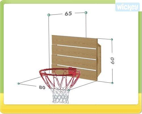 Luxury Xtra Basket Wandanbau oder Schaukelanbau Wickey de