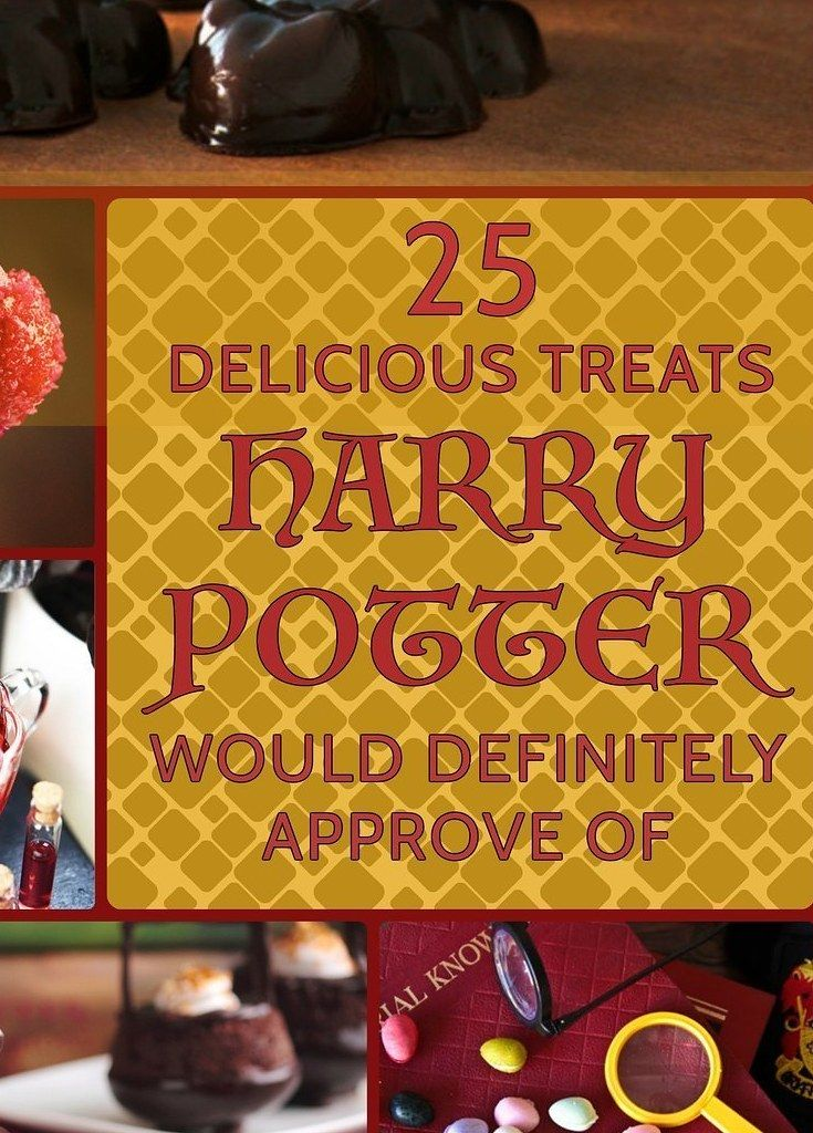 25 Harry Potter Treats To Rival Honeydukes