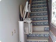 Foto 15 - Cadeira-Elevador de Escada para escadas a direito