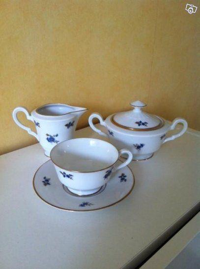 Söta och fina kaffeserviser med gammal charm