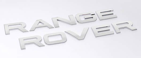 Range Rover Oem Style Font Lettering Chrome Range Rover Lettering Range Rover Supercharged