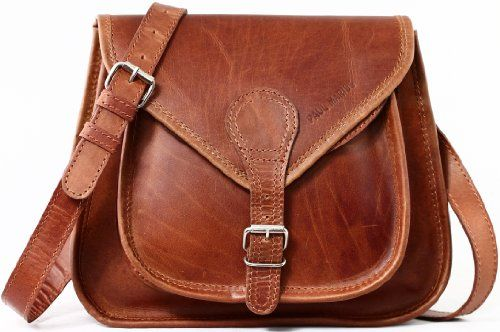 LA BESACE PAUL MARIUS cuir couleur naturelle sac à main style bohème - Le Sac en Cuir