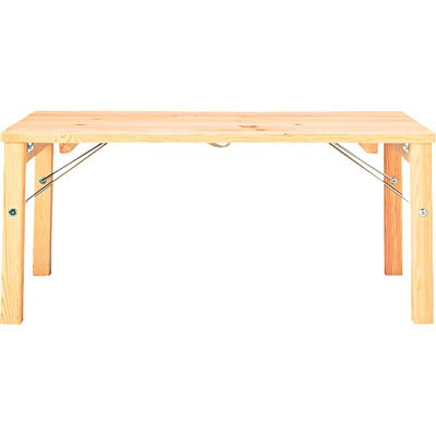 パイン材ローテーブル・折りたたみ式 幅80×奥行50×高さ35cm   無印良品ネットストア