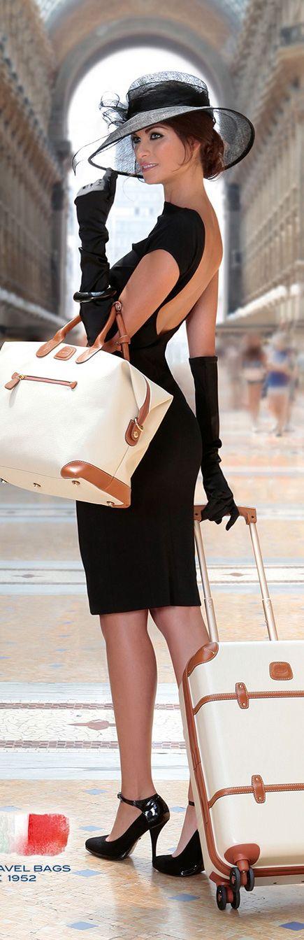Maleta y maletín de viaje en beige