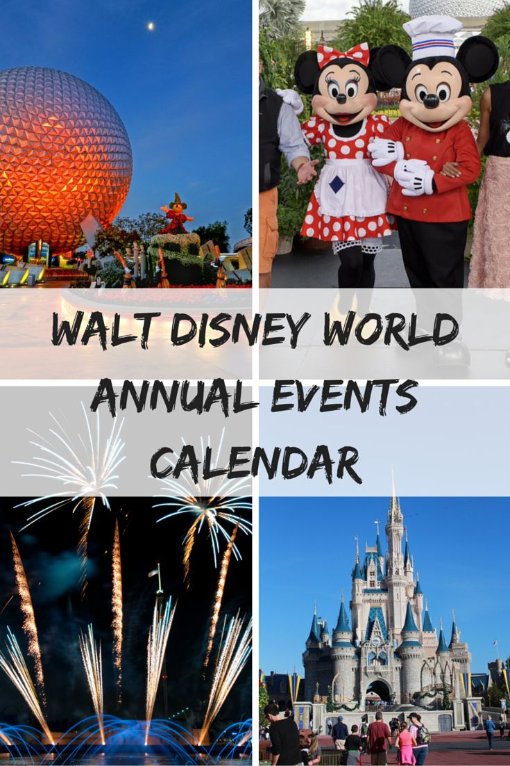 Walt Disney World Annual Events Calendar, Annual Events Returning to Walt Disney World, Sign up for my mailing list and get a FREE eGuide - 5 Steps to Book your Disney World Vacation http://eepurl.com/9ct_r