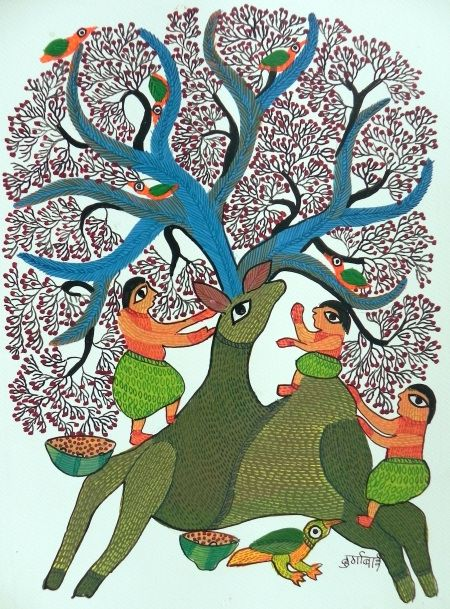 Gond Art - Durga Bai
