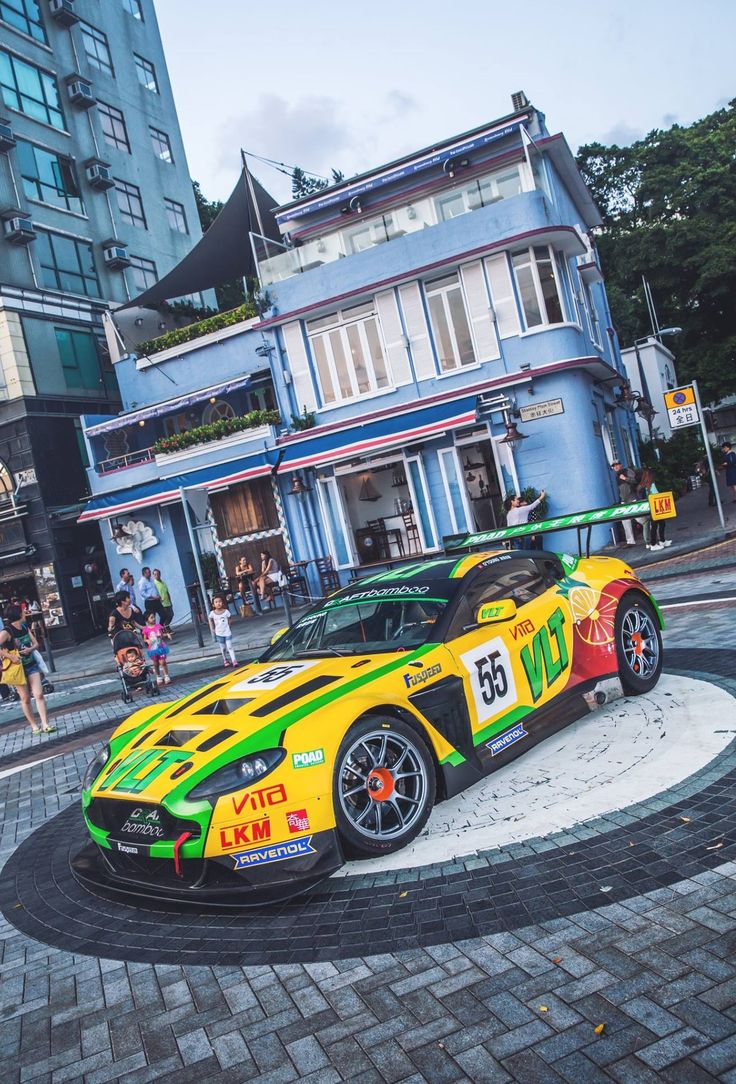 Aston Martin Vantage Racing