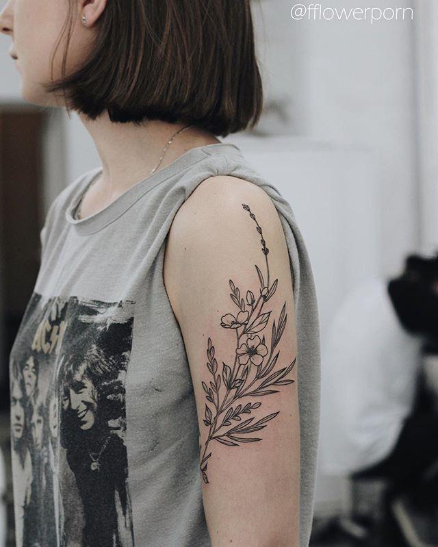 Black and grey wild flowers for Tanya #tattoo #tattoos #ink #inked #tattooed #tattooist #design #flower #flowers #plants #botanical #tattooistartmagazine #tatrussia #tattoodo #toptattooartists #thebesttattooartists #tattoorevuemag #tattoscute #tattoo_artwork #tattoo_worldwide_online #equilattera