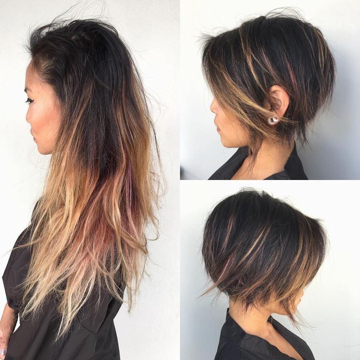 """1,665 Likes, 52 Comments - JAMIE KEIKO HAIR (@jamiekeikohair) on Instagram: """"• HAIR  MAKEOVER • I took a challenge of this hair cutting makeover and damn it feels good when…"""""""
