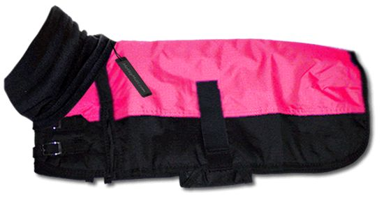 All Weather Large and Giant Breed Dog Coat - Pink. I think I need this for Zo