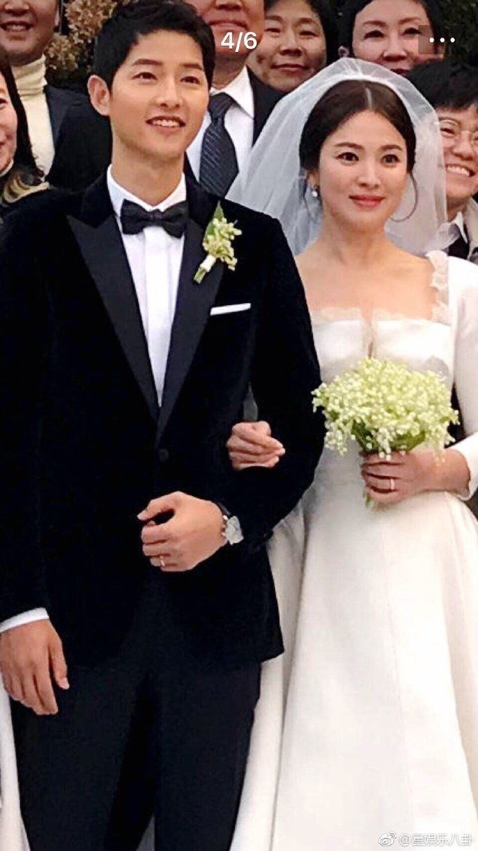 Song Joong Ki and Song Hye Kyo❤ A beautiful couple ❤ The wedding of the decade ❤