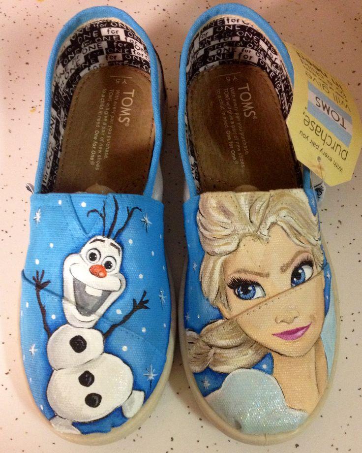 Custom Frozen shoes