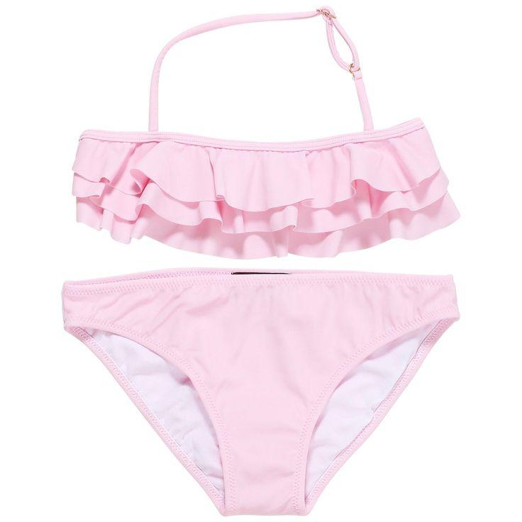 Pink Ruffled Bikini for Girls