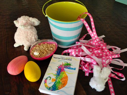 185 best baby easter baskets images on pinterest gift hampers the beans first easter basket negle Choice Image