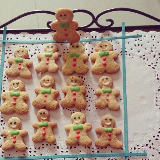 Ginger bread man cookies