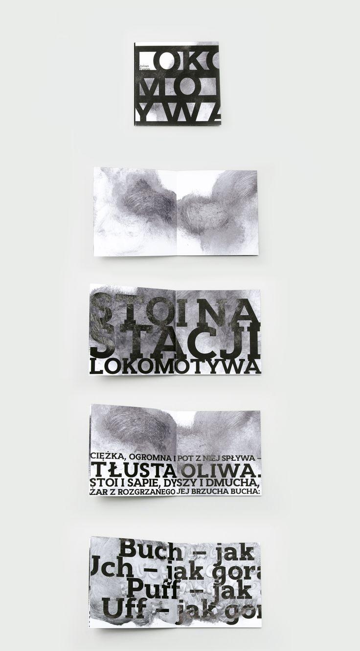 The Locomotive Julian Tuwim Book design Igor Kubik