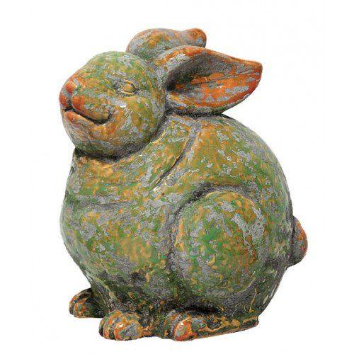 Imported Garden Rabbit Statue