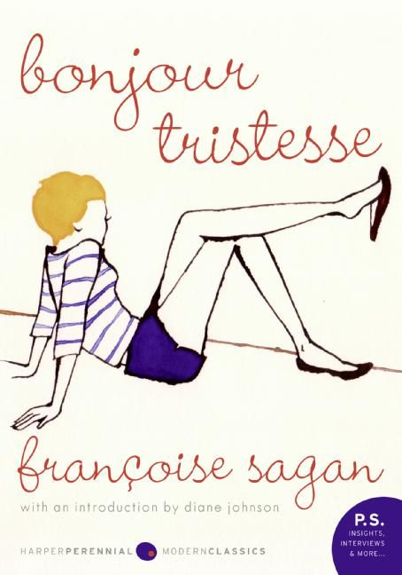 Bonjour Tristesse by Francoise Sagan was such a delectable read. A girl who loves her father too much tries to keep him all to herself when he's tied tied between two women. With a Blossom Dearie jazz prose style with Parisian summer feels of the warm weather and the cool waters, this little novel has become an instant favorite of mine that vaguely reminds me of Fante's Ask the Dust. Recommended.
