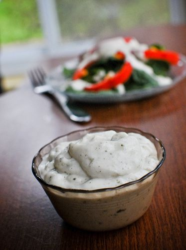 Egg Free, Dairy Free Ranch Dressing (Vegan, Gluten Free, Soy Free, Refined Sugar Free)- I am not a Vegan but respect that, my son is allergic to egg and I want him to eat veggies.