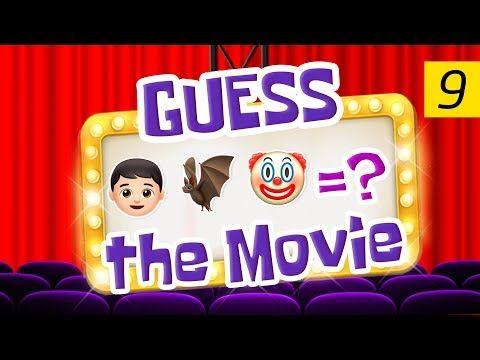 Can You Guess All The Movies? | Emoji Challenge 9 - YouTube