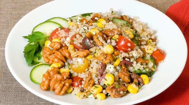 Summer-Fresh Confetti Walnut Quinoa Salad - California Walnuts