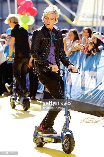 Ross Lynch arrives at the Australian premiere of 'Teen Beach Movie' at The Entertainment Quarter on August 4 2013 in Sydney Australia