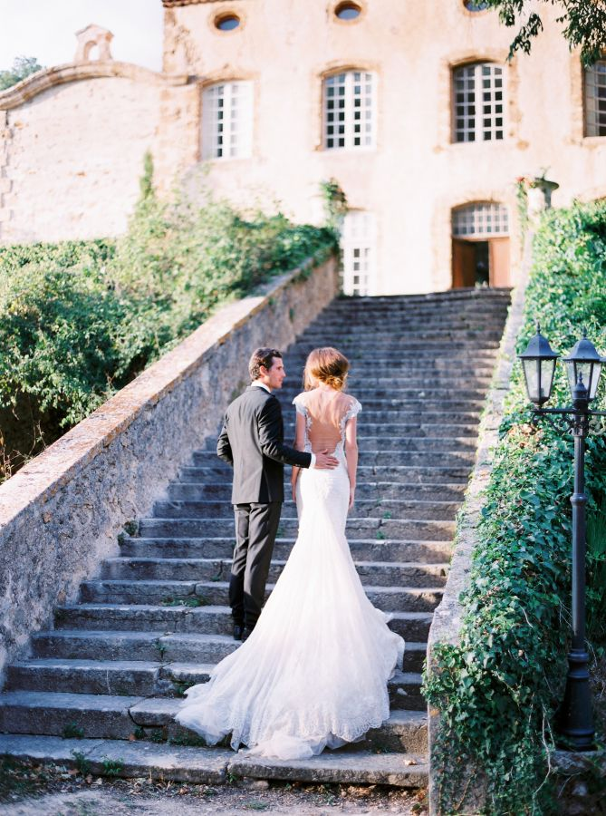Breathtaking + elegant Provence wedding inspiration: http://www.stylemepretty.com/2015/11/13/authentic-provence-wedding-inspiration/ | Photography: Le Secret d'Audrey - lesecretdaudrey.com