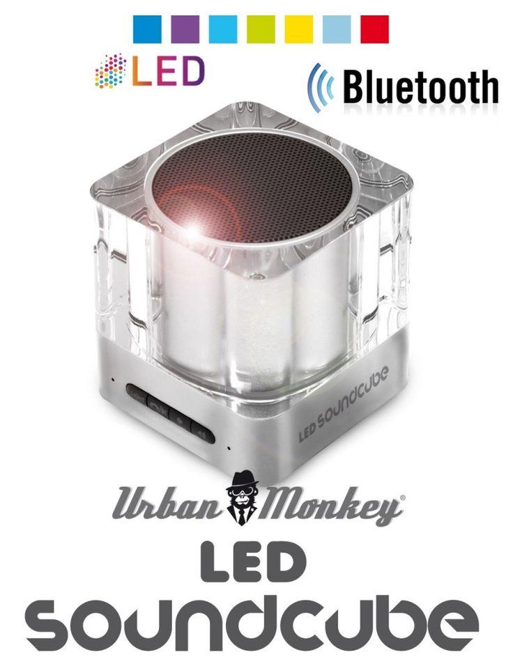 Hordozható LED fényes bluetooth hangszóró  Színváltó funkció  7 izzó LED szín  Okostelefonnal vezérelhető  Max.10m hatótávolság*  Bluetooth 3.0 kompatibilitás  High...