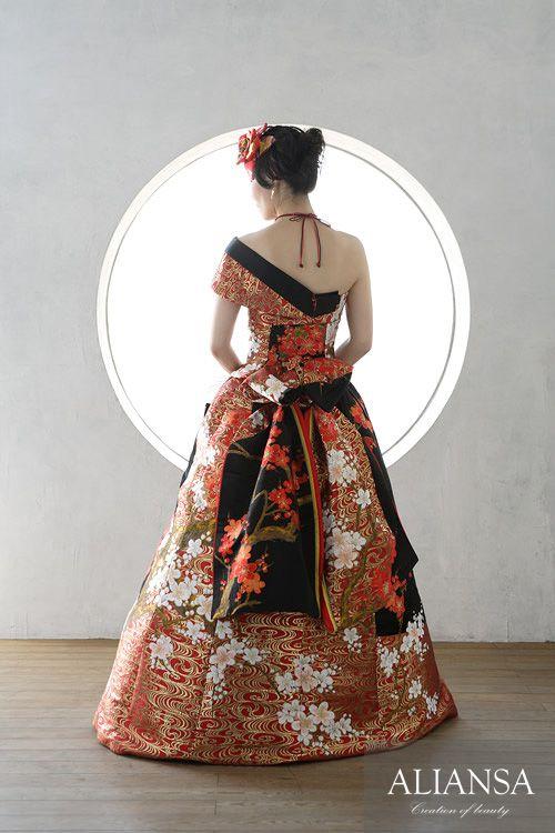 Wedding dress · wedding dress's dress order · rental dress is Ariansa | Japanese dress · Akane · dress rental order made