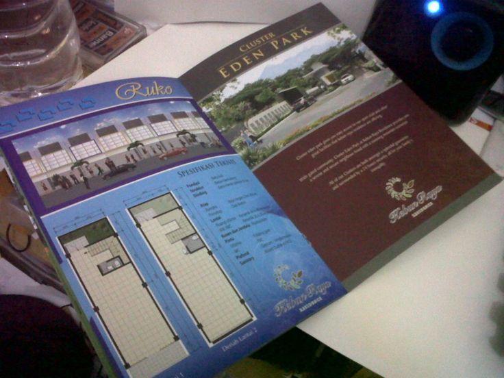 Kebun raya brochure